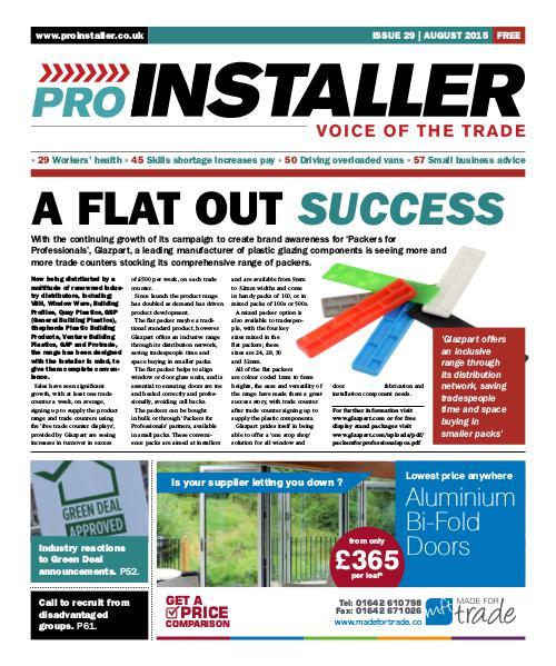 Pro Installer August 2015 - Issue 29