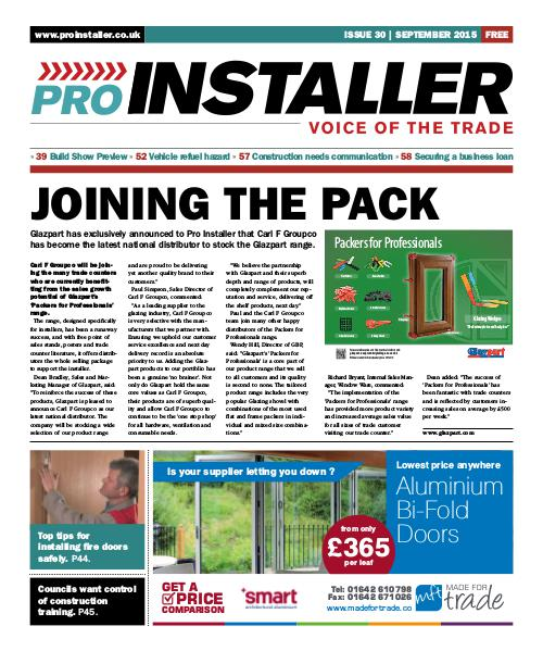 Pro Installer September 2015 - Issue 30
