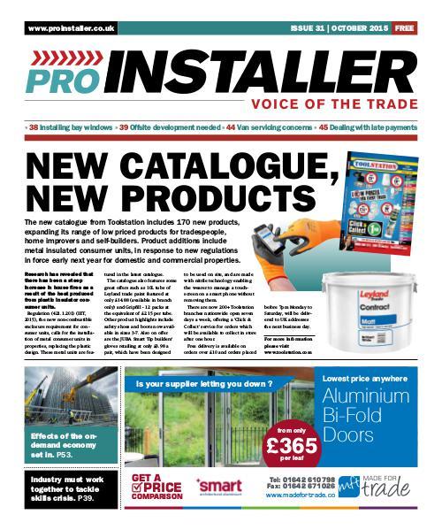 Pro Installer October 2015 - Issue 31