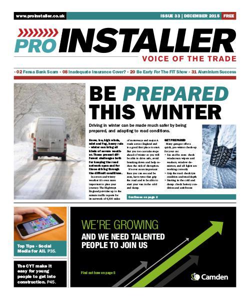 December 2015 - Issue 33