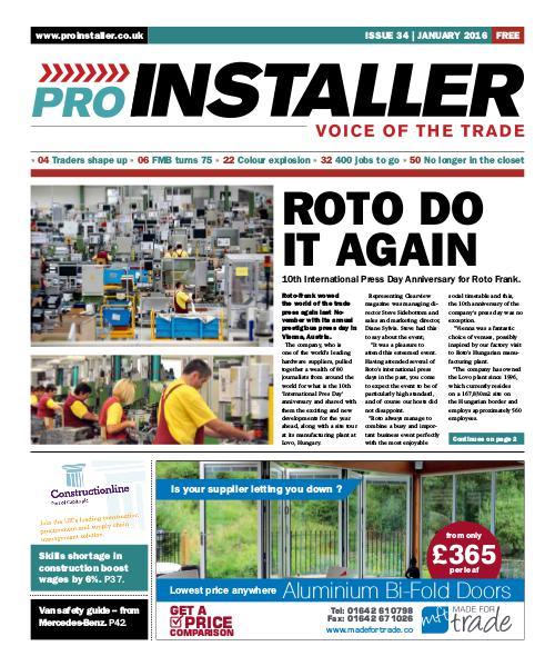 Pro Installer January 2016 - Issue 34