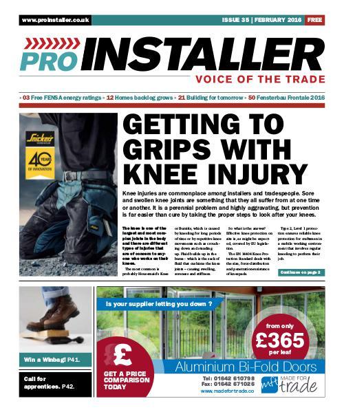 Pro Installer February 2016 - Issue 35
