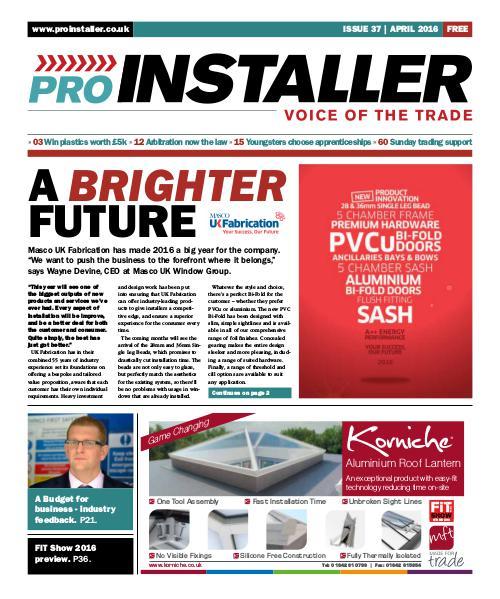Pro Installer April 2016 - Issue 37