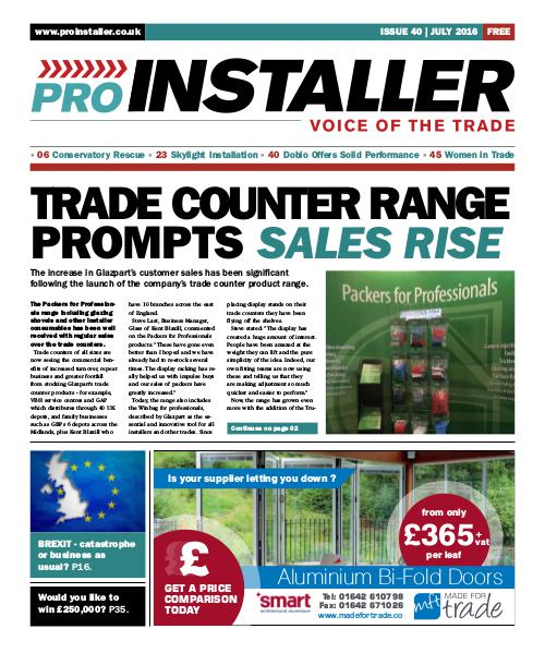 Pro Installer July 2016 - Issue 40