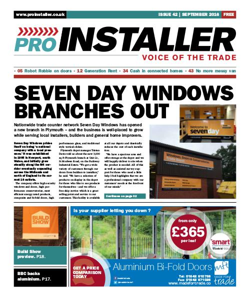 Pro Installer September 2016 - Issue 42