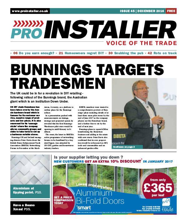 Pro Installer December 2016 - Issue 45