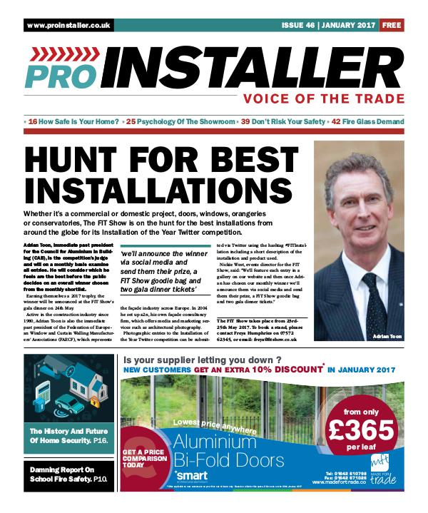 Pro Installer January 2017 - Issue 46