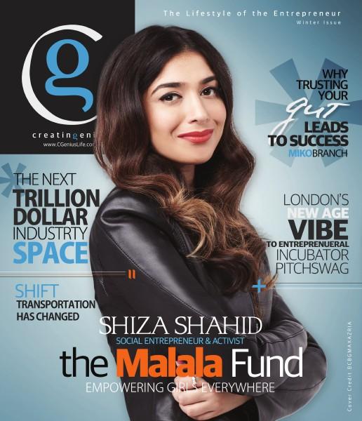 Creating Genius Magazine Winter Issue