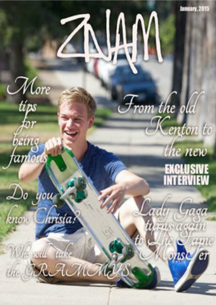 Znam Magazine Znam Magazine, January 2015