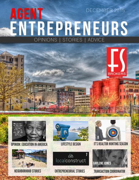 Agent Entrepreneurs Dec 2015