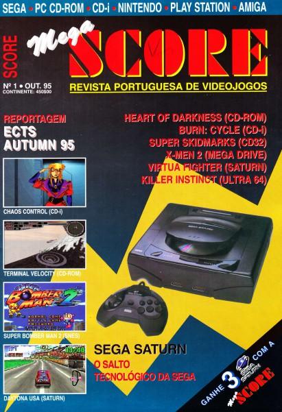 Mega Score Oct. 1995 N.1
