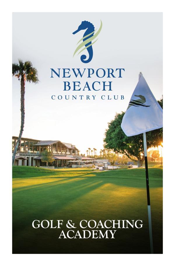 NBCC Golf Lessons NBCC 2019 Golf Lessons