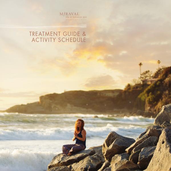 Monarch Beach Resort Spa MBR_SPA Brochure