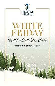 NBCC White Friday