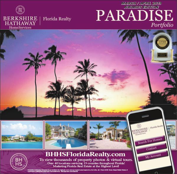Paradise Portfolio – Miami Herald Edition March / April 2019 Awards Edition