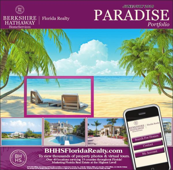 Paradise Portfolio - Miami Herald Edition June 2019 June / July 2019