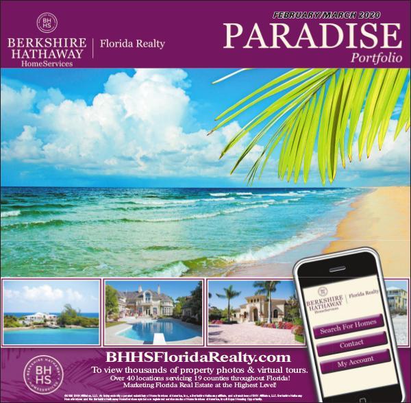 Paradise Portfolio – Miami Herald Edition February 2020 Miami Herald Feb / March 2020 Digital Edition