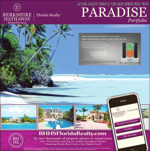 Paradise Portfolio – Miami Herald Edition April / May 2020 April / May 2020