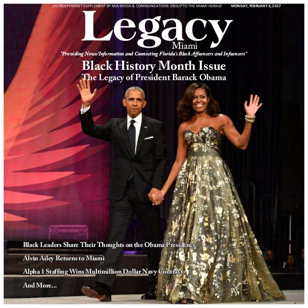 Legacy 2017 Miami: Black History Month Issue