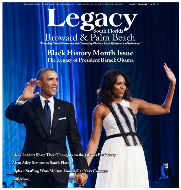 Legacy 2017 South Florida: Black History Month Issue