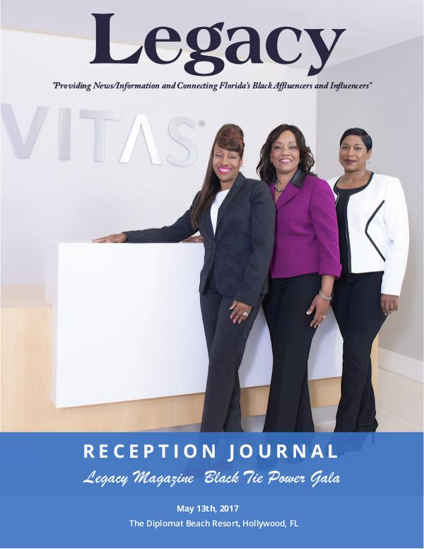 Legacy 2017 Black Tie Power Reception Journal