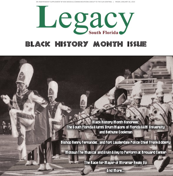 Legacy 2015 South Florida: Black History Month Issue