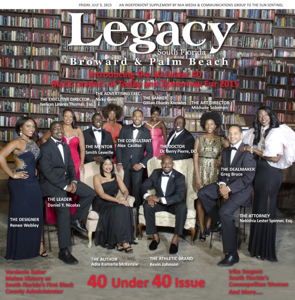 Legacy 2015 South Florida: 40 Under 40 Issue