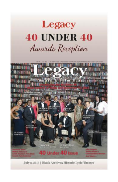 Legacy 2015 40 Under 40 Reception Program