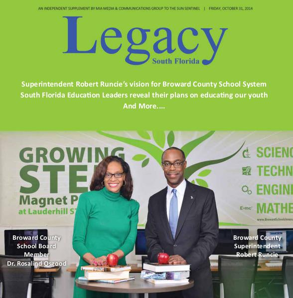 Legacy 2014 South Florida:  Education Issue