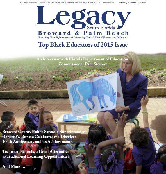 Legacy 2015 South Florida: Top Black Educators Issue