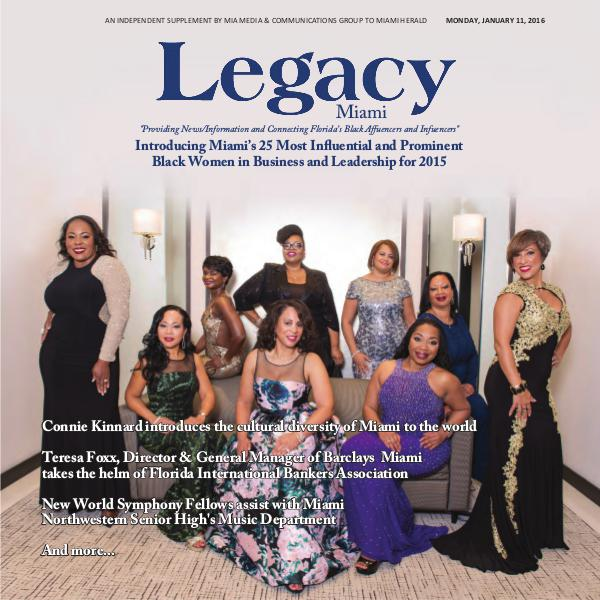 Legacy 2016 Miami: 25 Most Powerful Women Issue