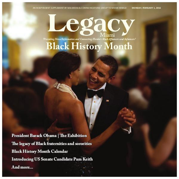 Legacy 2016 Miami: Black History Month Issue