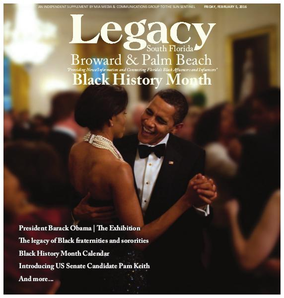 Legacy 2016 South Florida: Black History Month Issue