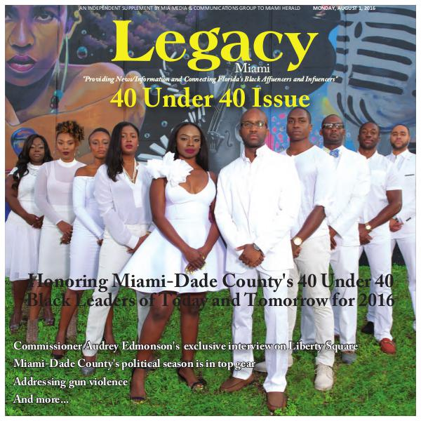 Legacy 2016 Miami: 40 Under 40 Issue