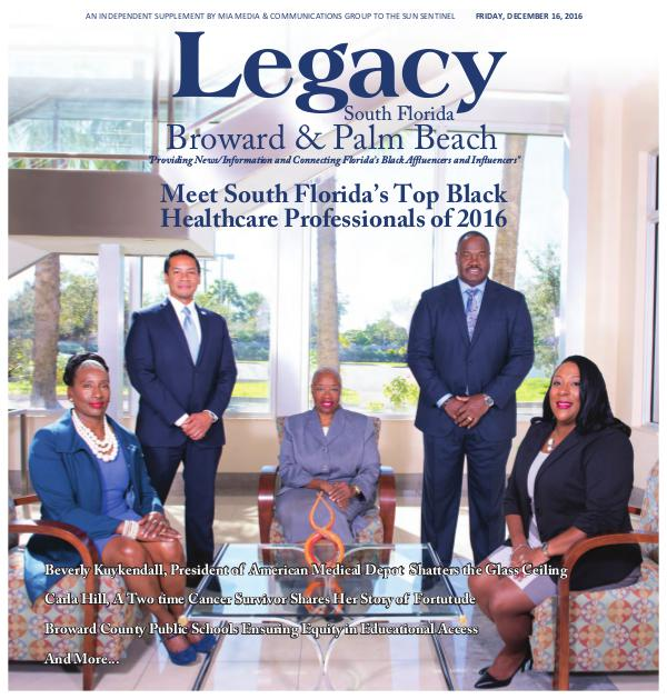 2016 South Florida: Healthcare Issue