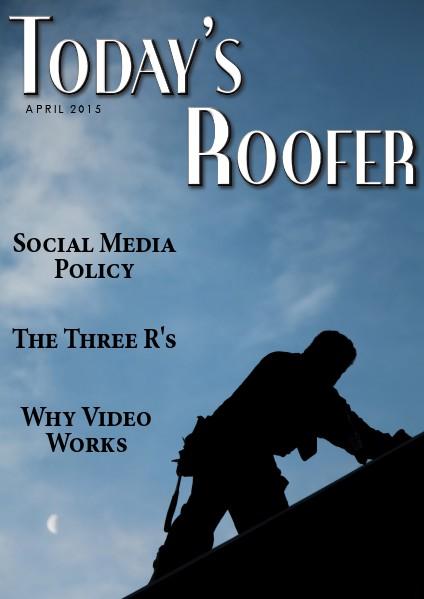 Today's Roofer April 2015