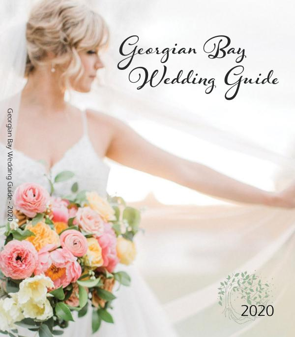 2020 Georgian Bay Wedding Guide 10th Anniversary Issue