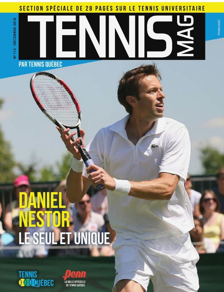Tennis-mag #113 - Décembre 2018 Tennis-mag #113