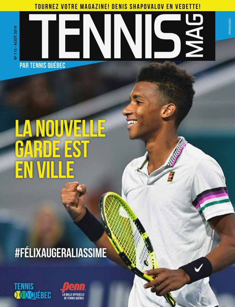 Tennis-mag #115 - Août 2019 Tennis_Mag #115