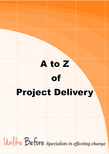 The A to Z of Project Delivery