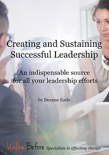Creating and Sustaining Successful Leadership