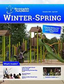 Bloomingdale Park District Seasonal Brochure