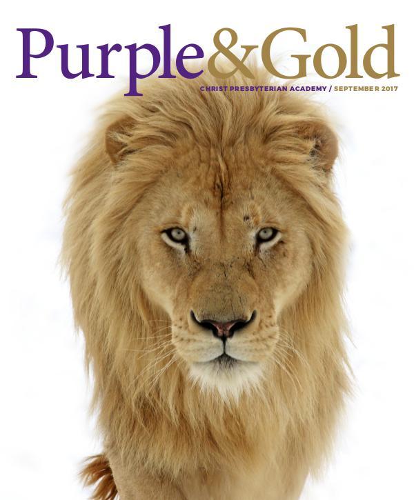 Purple & Gold / September 2017 Purple & Gold Sept 2017