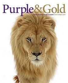 Purple & Gold / September 2017