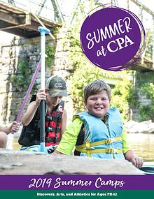 2019 Summer at CPA Camp Brochure