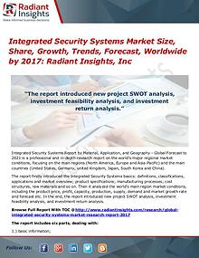 Integrated Security Systems Market Size, Share, Growth, Trends 2017