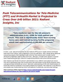 Push Telecommunications for Tele-Medicine (PTT) and M-Health Market