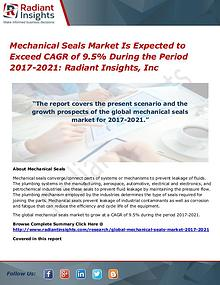 Mechanical Seals Market is Expected to Exceed CAGR of 9.5%