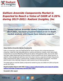 Gallium Arsenide Components Market is Expected to Reach