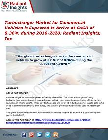 Turbocharger Market for Commercial Vehicles is Expected
